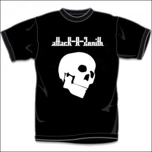 attacK-A-Zenith T-shirts(ブラック)