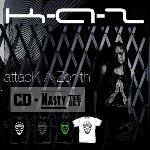attacK-A-Zenith(CD)&NASTY(Tee) / CD+T-shirts