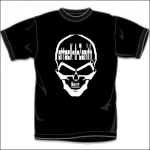 NASTY (T-Shirts)/Black-White