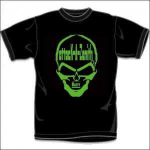 NASTY (T-Shirts)/Black-Green