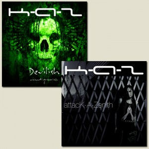 attacK-A-Zenith / Devilish -attacK-A-Zenith ll- (CD SET)