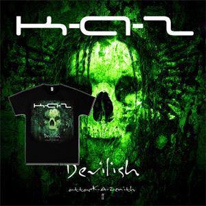 Devilish -attacK-A-Zenith ll- (CD+T-shirts)