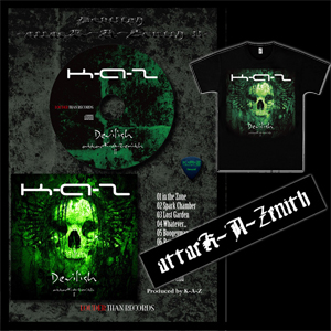 Devilish -attacK-A-Zenith ll- A4フレームバージョン (CD+T-shirts+Towel)