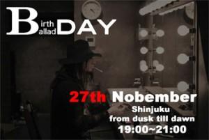 B DAY (K-A-Z Birthday Special Ballad Live)