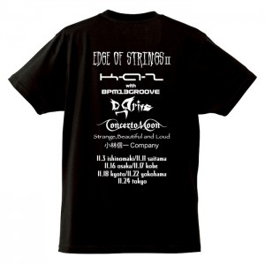 Edge of StringsⅡTour tee (T-Shirts)/Black