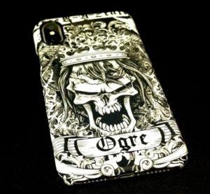 【受注生産】Ogre iPhone, Plus & X (ハードカバーiPhoneケース)